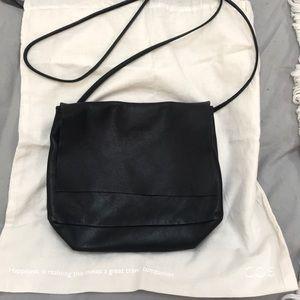 COS Soft Leather Over the Shoulder Bag Acne Gavrie